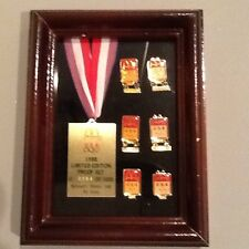 McDonald's 1988 Limited Edition Proof Set Olympic Logo Pins
