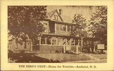 Amherst NS Bird's Nest Home For Tourists Postcard