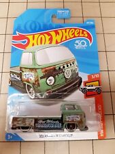Hot Wheels 2018 Volkswagen T2 Pickup Green HW Hot Trucks
