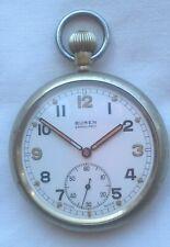 Good Buren Grand Prix Military GSTP Pocket Watch – Good Working Order