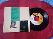 """RARE EP 45 T  DEL SHANNON   """" You never talked about me """"  1963   Barclay 70 483"""