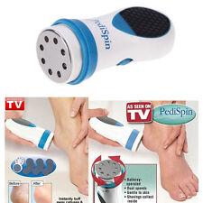 Pedi Spin Electronic Foot Callus Removes Calluses Remover Shaver File Foot Care
