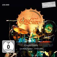 GURU GURU - LIVE AT ROCKPALAST 3 CD NEW