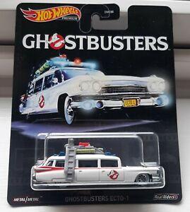 Hot Wheels - Ghostbusters Ecto 1 - Premium Retro Entertainment - Real Riders
