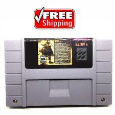 14 in 1 Multicart Super Nintendo SNES Earthbound, Chrono Trigger, Terranigma US