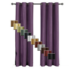 """Single Soho Grommet Blackout Panels, Thermal-Insulated Window Curtain - 42"""" Wide"""