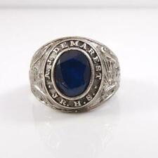 Vintage Sterling Silver 1967 AJ Demarest Junior School Class Ring Size 9 LFB4