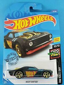 2019 Mattel Hot Wheels TRACK STARS HW RACE DAY 10/10 NIGHT SHIFTER #12/250