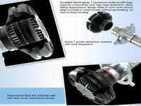 Ampoule H4 H1 H7 H11 LED Blanc Pur 400W Xenon 6000K Ventilé Aluminium Phare Cob