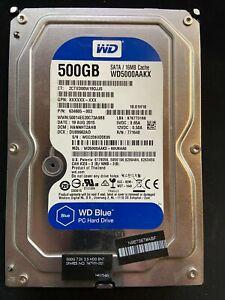 disque dur 500 go western digital blue , 3.5 pouce , 7200 rpm, SATA 6.0 Gb/s