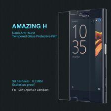 Película protectora de pantalla de vidrio templado para teléfono móvil compacto Sony Xperia X