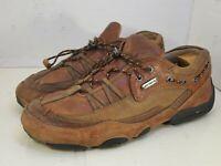 H.S. Trask Trophy Tan Leather Lace Up Comfort Shoes H7001-218 Men's US Size 10 M