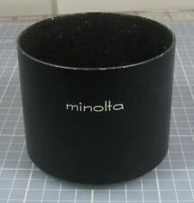Minolta 52mm Screw-In Metal Lens Hood Originally for the MC 135mm f/3.5 (Others)