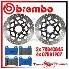 Dischi Freno Anteriore BREMBO + Pastiglie C.C. DUCATI HYPERMOTARD 796 2010 2011
