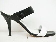 VIGNERON ♫ Damen Pantoletten Pumps Gr. 38 Leder Woman Schuhe