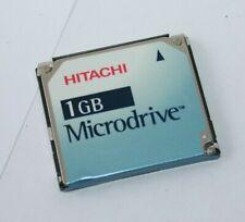 Hitachi 1GB Microdrive type 2 Media Storage Hard Disc Memory Compact Flash