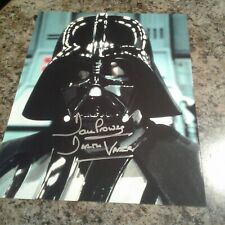 David Prowse Signed 8x10 Photo Star Wars Darth VaderChaucer Actions