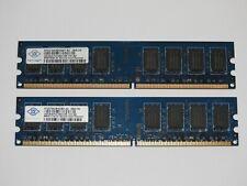 4GB Nanya (2x 2GB) DDR2 800MHz 6400U RAM Arbeitsspeicher