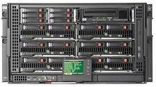 HP C3000 BladeSystem w/8x BL460c G7 16x X5650 *96 Cores* 256GB RAM 3D Modelling