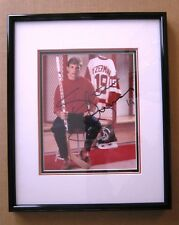 Red Wings Steve Yzerman signed  Rare Early Career Photo Framed & Matted - Nice!