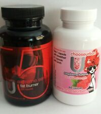 STRONG FAT BURNER DIET SLIMMING PILL X 60   + 50% FREE + RASPBERRY KETONE X 60🌷