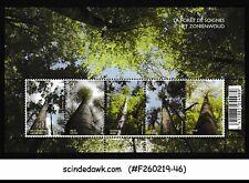 BELGIUM - 2009 SONIAN FOREST - SG#MS4280 - MINIATURE SHEET MNH