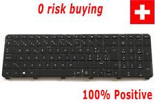 For HP dv7-7000 Envy dv7-7200 dv7-7300 Keyboard Swiss German CH Tastatur Backlit