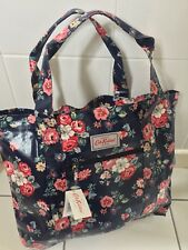 Cath Kidston Large Open Carry All Bag BNWT Forest Bunch Navy