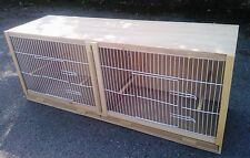 "Double Budgie Breeding Cage  38"" x 15 x 12."