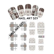 Nail Art water transfer Stickers-Adesivi con Glitter per Ricostruzione Unghie!!