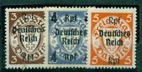 Deutsches Reich. Neuer Wert auf Danzig-Marken Nr. 716 - 729 postfrisch **