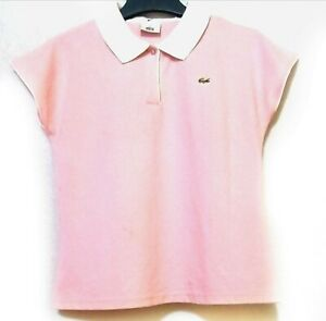 Pink Polo Shirt In white Collar