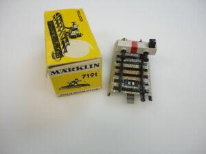 Marklin Ho 7191 lighted buffer old metal style  NO  ORIGINAL  BOX nice!