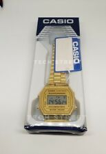 Casio Classic Digital Watch-A168WA-1YES Gold - Perfect Valentines Gift (Boxed)