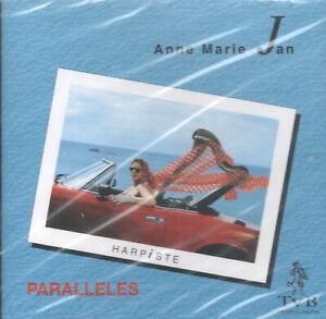 Paralleles by Anne-Marie Jan (CD, 1994 Keltia Musique) Breton Harpist/NEW!/OOP