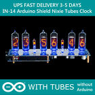 IN-14 Shield NCS314 Arduino Nixie Tubes Clock WITH TUBES FAST DELIVERY 3-5 Days