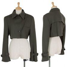 VIKTOR & ROLF Wool short design jacket coat Size 40(K-27176)