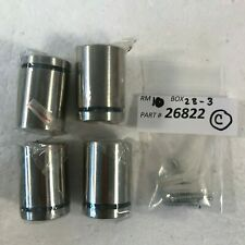 GlideRite 1-1/4 in. Dia x 1-1/2 in. L Stainless Steel Standoffs for Signs 4 Pack