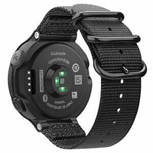 FINTIE Bracelet Compatible avec Garmin Forerunner 235/220 / 230/620 / 630 / 735X
