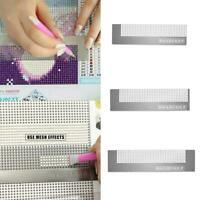 5D Diamond Painting Ruler Stainless Steel Cross Stitch Embroidery DIY Tools
