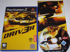 Driver 3 (DRIV3R) PS2 Playstation 2 Game Tested PAL UK