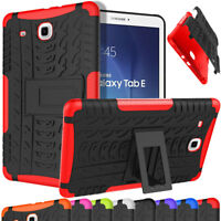 For Samsung Galaxy Tab A E 4 S3 7.0 8.0 9.7 10.1 Tablet Hybrid Rugged Stand Case