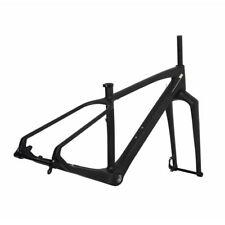 "17.5"" 26er Carbon Fat Bike Frame Fork 150mm 197mm Thru Axle  4.8"" BSA 100mm wide"