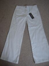 M&S  PORTFOLIO WHITE BOOTCUT JEANS SIZE 10 S  NEW WITH TAGS COST £29 50.