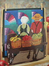 GOING TO MARKET    ~*~PLASTIC CANVAS PATTERN BY ANNIE'S
