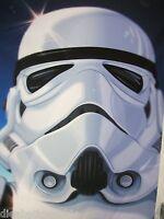 SKULL star wars Sticker STORMTROOPER poster print timothy anderson