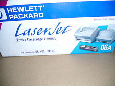 Lot of 2 Genuine  HP 3906A Toner Cartridges Sealed Retail Box  Free Shipping