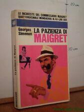 La Pazienza Di Maigret.,Georges Simenon  ,Mondadori,1968