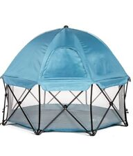Regalo 8 Panel Play Yard With Carry Case And Full Canopy