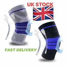 Knee Support Brace Compression with Side Stabilizers Silicon patella Gel